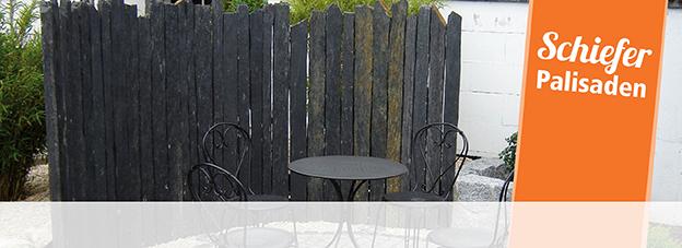stelen palisaden steine gabionen mehr. Black Bedroom Furniture Sets. Home Design Ideas