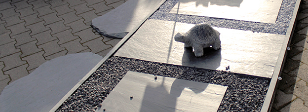 trittplatten steine gabionen mehr. Black Bedroom Furniture Sets. Home Design Ideas