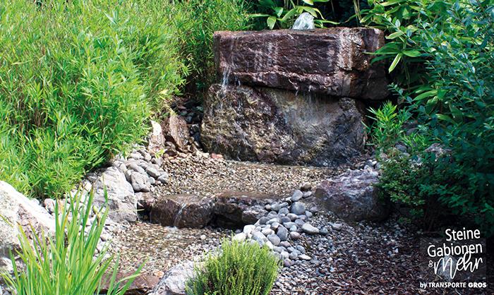 Lieblingspl tze steine gabionen mehr for Dekosteine rund